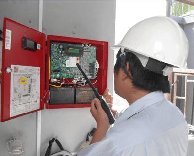 Cấu tạo của hệ thống báo cháy tự động