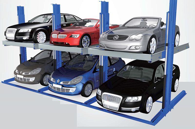 Hệ thống bãi đỗ xe gia đình và trung cư