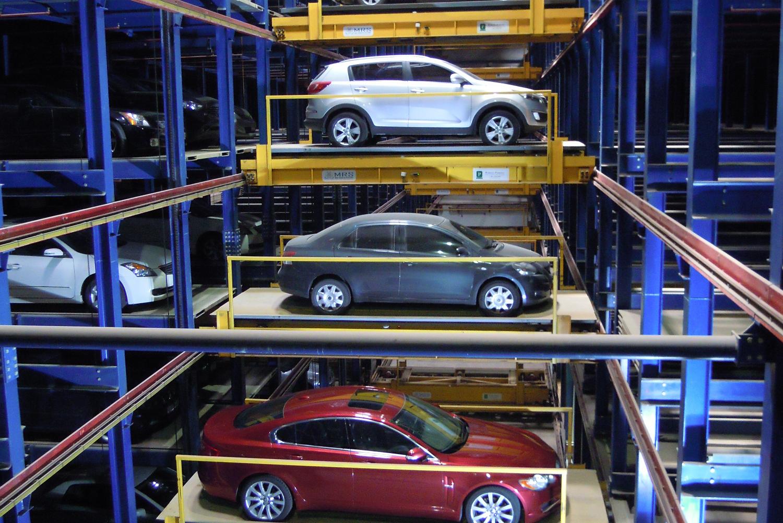 Hệ thống đỗ xe tự động